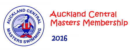 Auckland Central Masters Membership 2016