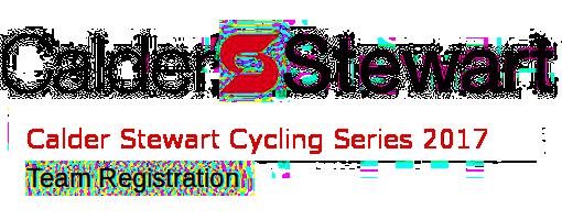 The Calder Stewart Cycling Series 2017 Teams