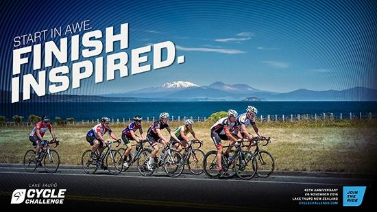 Lake Taupo Cycle Challenge 2016